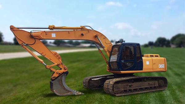 Excavator senile CASE - 21 to
