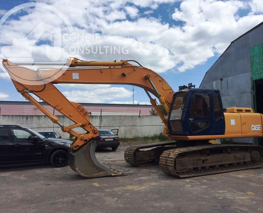 Excavator senile CASE - 21 tone