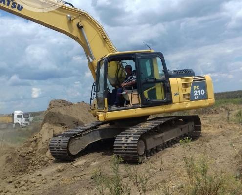 Excavator senile Komatsu 22 to - 2