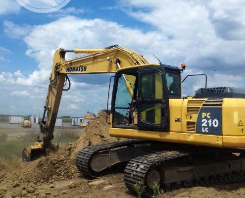 Excavator senile Komatsu 22 to - 3
