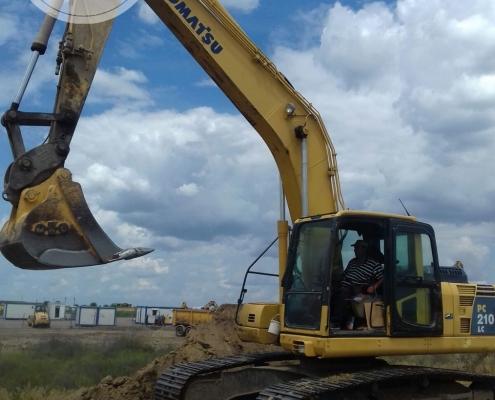 Excavator senile Komatsu 22 to - 5
