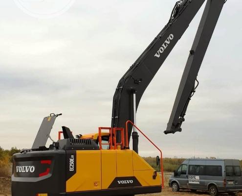 Excavator cu brat lung Volvo 5